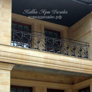 БО-10 Кованый балкон «Тюльпан Альберта»