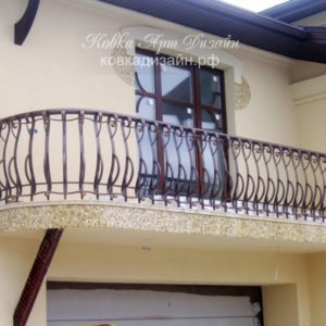 БО-16 Кованый балкон «Бретёр»