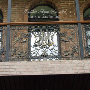 Кованый балкон «Кардинал Мазарини» БО-19