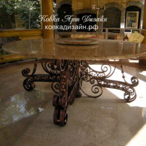 Кованый стол «Мегалит» М-13