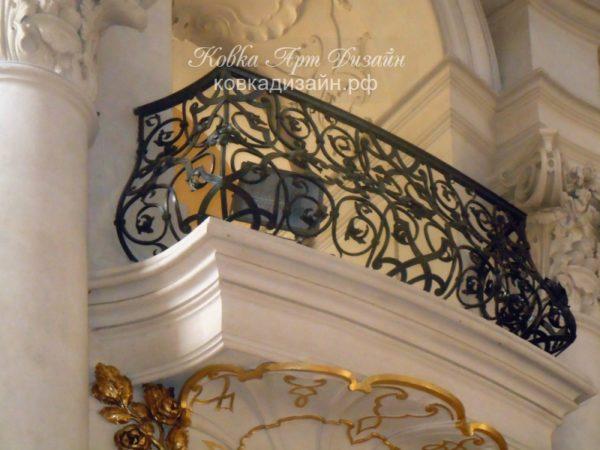 Кованый балкон «Версаль» БО-27