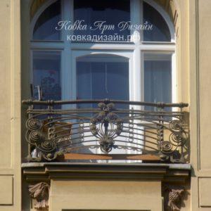 Кованый балкон «Molto allegro» БО-28
