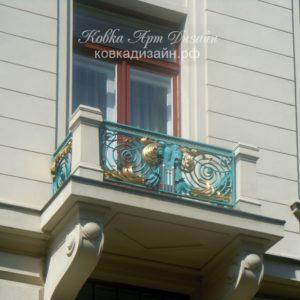 Кованый балкон «Посейдон» БО-29