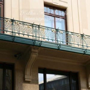 Кованый балкон «Нью-Йорк» БО-37