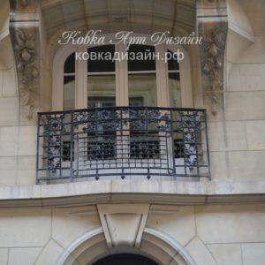 Кованый балкон «Борджиа» БО-38