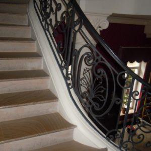 Кованые перила для лестниц П-48