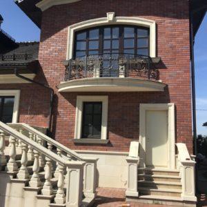 Кованый балкон «Джульетта» БО-31