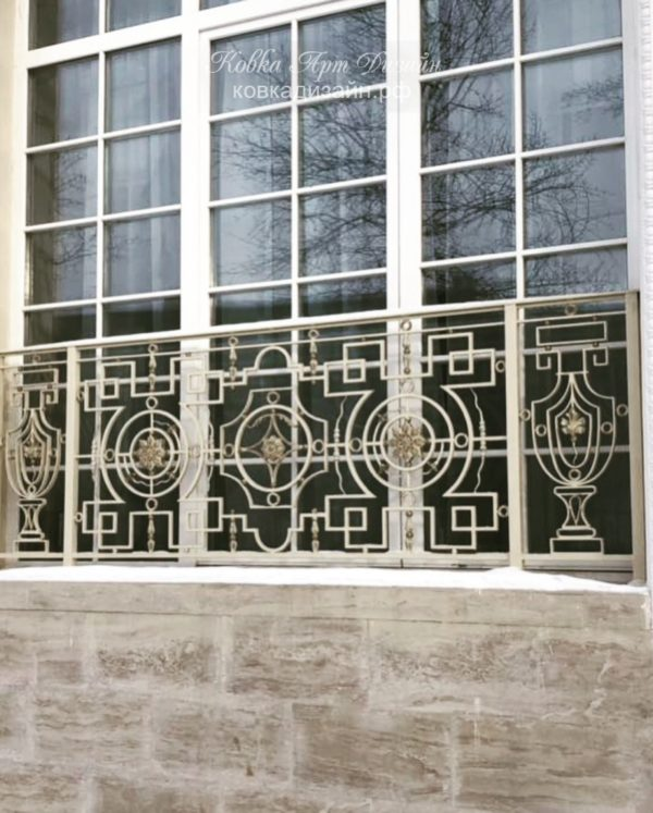 Кованый балкон «Вионье» БО-22