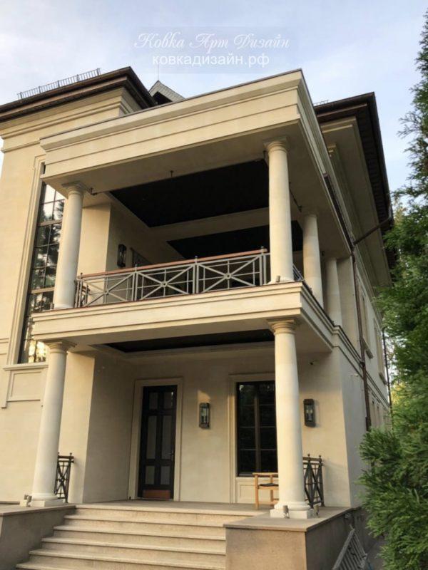 БО-24 Кованый балкон «Дар Афродиты»