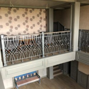 Кованый балкон «Венецианский мотив» БО-41