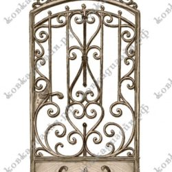 Эскизы кованых дверей