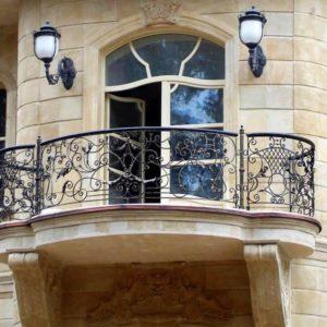 БО-21 Кованый балкон «Мускадель»