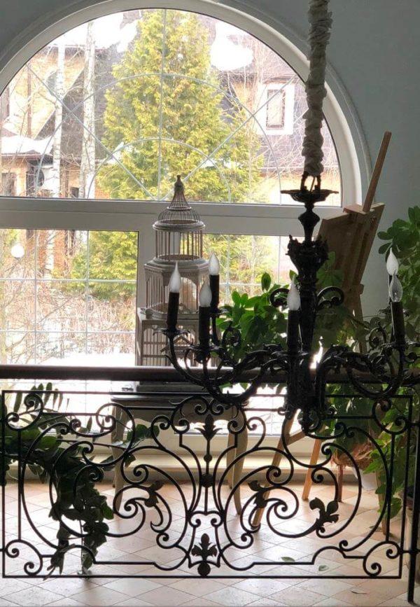 БО-13 Кованый балкон «Венеция»