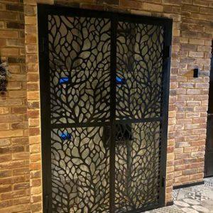 Кованые двери «Лофт» Д-18