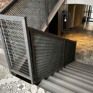 Кованые перила для лестниц «Лофт»