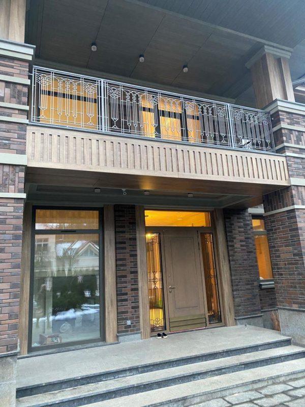 Балкон «стиль Райта»