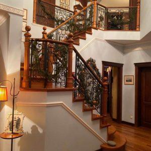 Кованые перила для лестниц «Венеция»