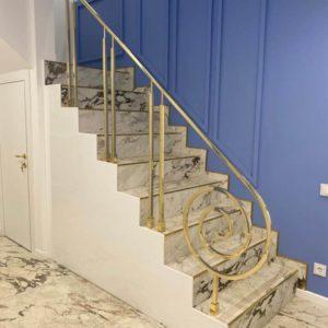 Кованые перила для лестниц «Симфония»