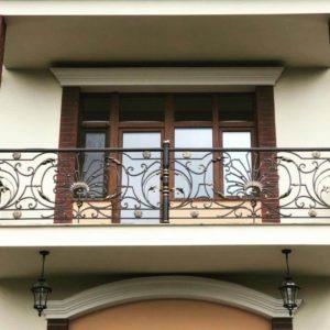 Кованый балкон «Борджиа» БО-78